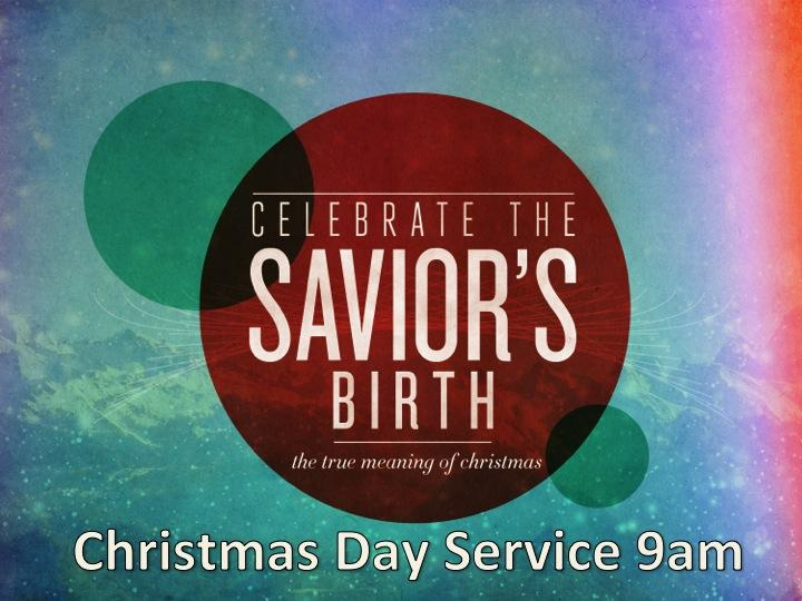 Christmas Day Service @BSBC