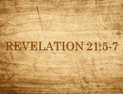 revelation 21.5-7