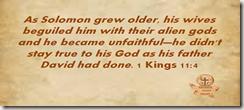 1 Kings 11.4