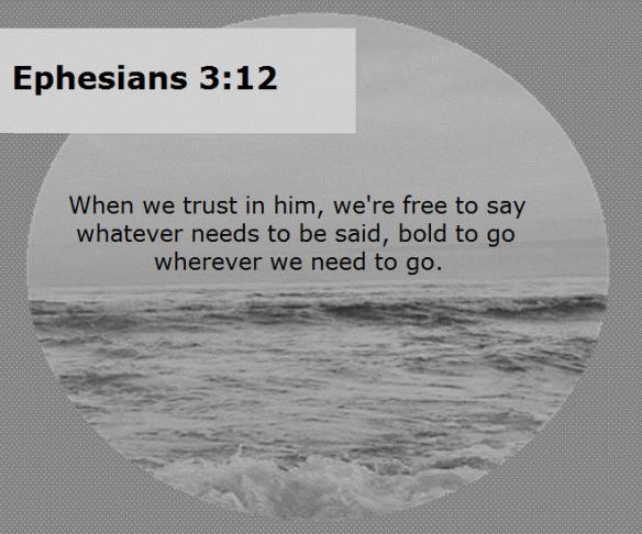 Ephesians 3.12