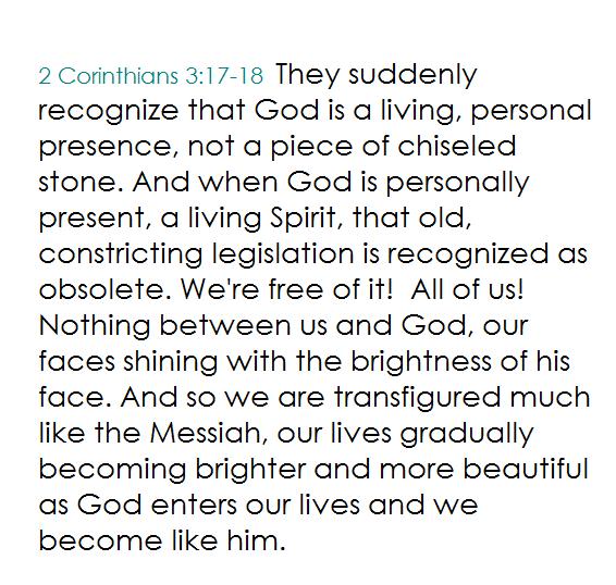 2 Cor 3.17