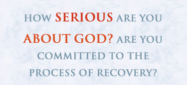 serious about God
