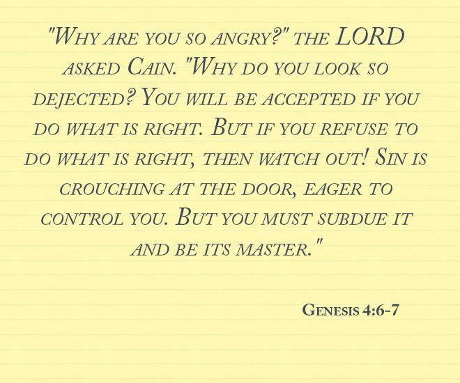 Genesis 4.6-7