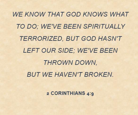 2 Corinthians 4.9