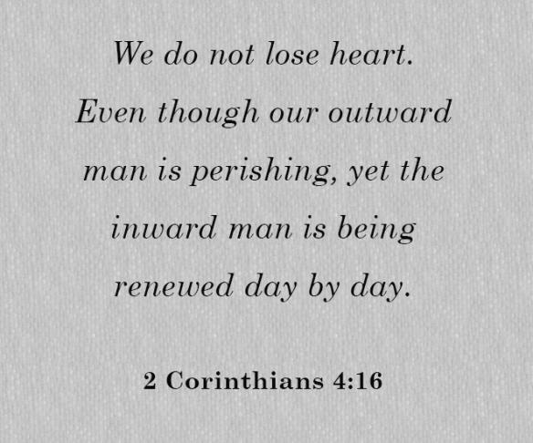 2 Cor 4.16