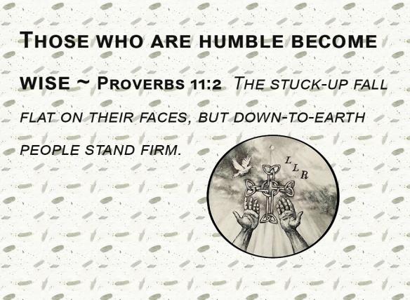 Proverbs 11.2